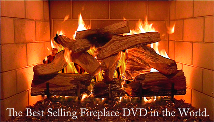 Plasmavironments Fireplace DVD The Ultimate Christmas